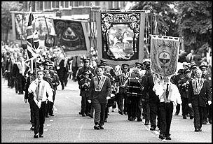 Orange marches: sectarian provocations