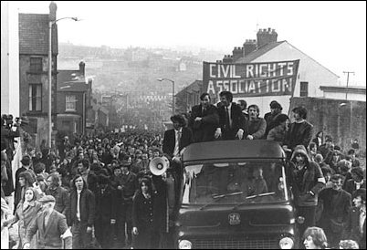 The Civil Rights Movement, although enthusiastic and militant, naively believed the British state was a potential ally