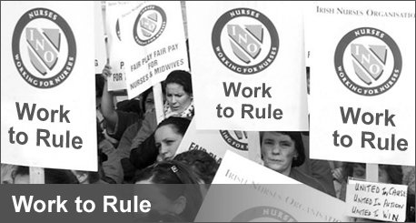 Nurses in Ireland defeated at the hands of the Irish trade union bureaucracy