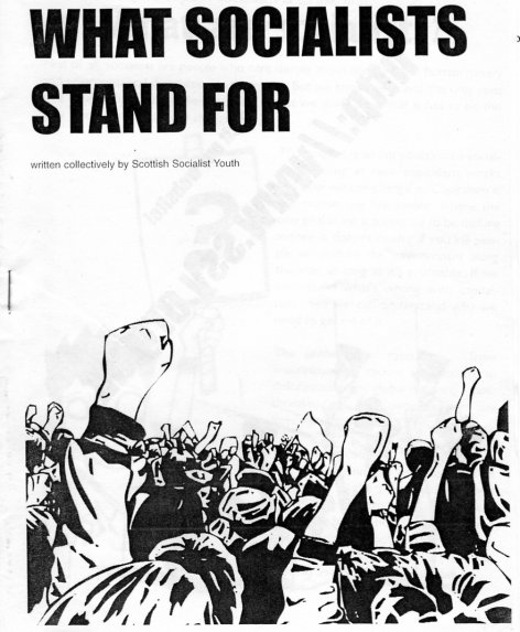 What Socialist Stand For